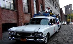 Did You Catch the Ghostbusters Car Driving Around NYC on Halloween?!