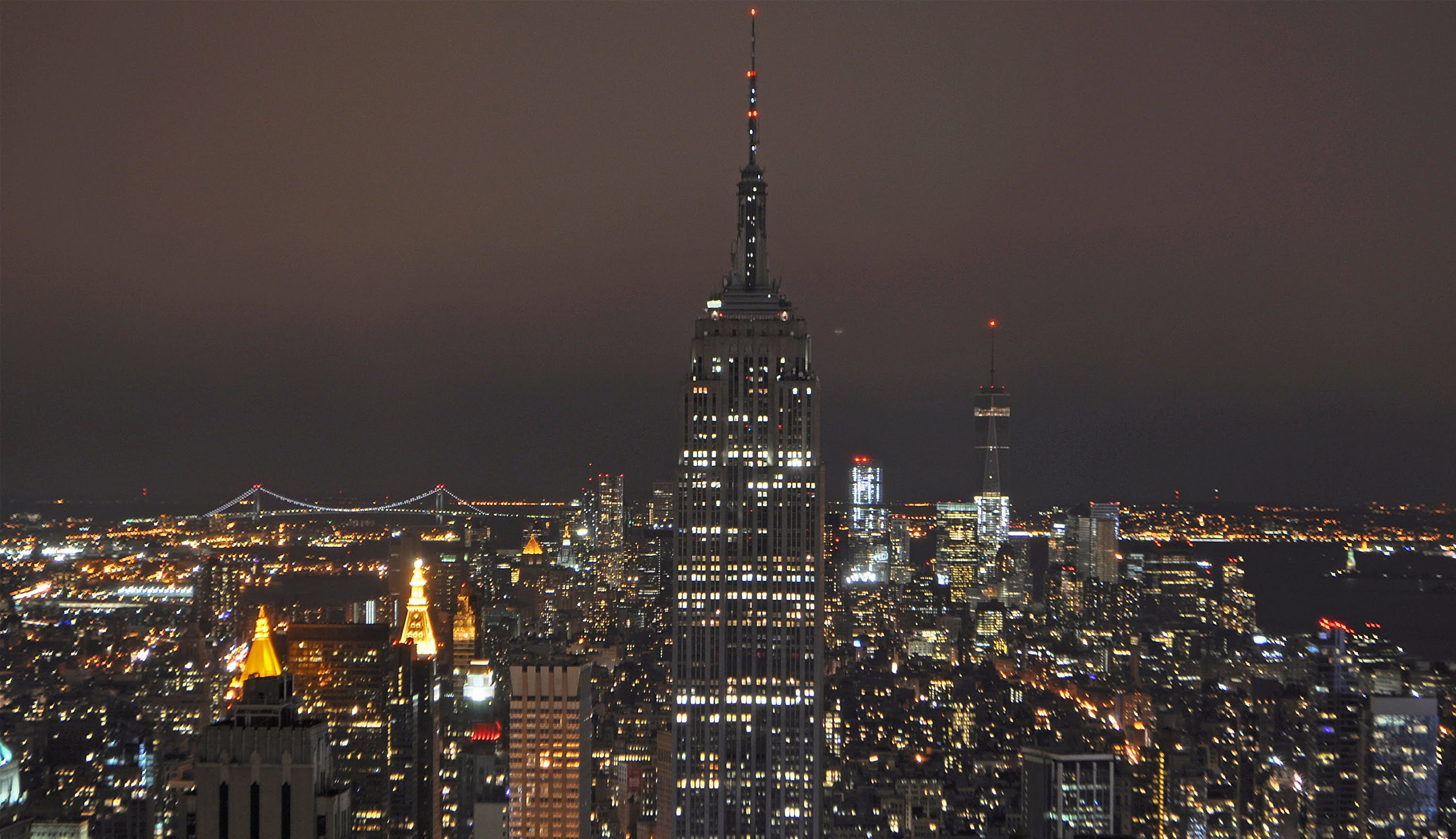 Pictures Of The Empire State Building Last Night