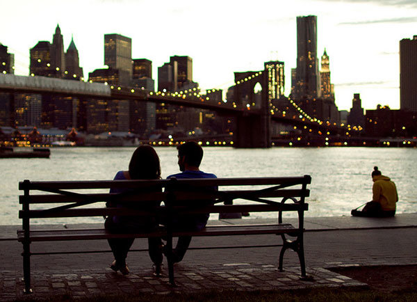 dating in new york city is hard I always found the experience of being on a date in new york extremely  uncomfortable the trouble is, like most englishmen, i'm very easily.