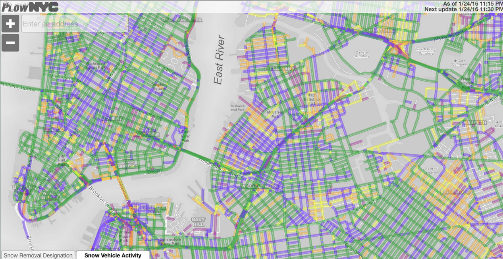 Check Out This Interactive Plow Map of Which NYC Streets Have Been