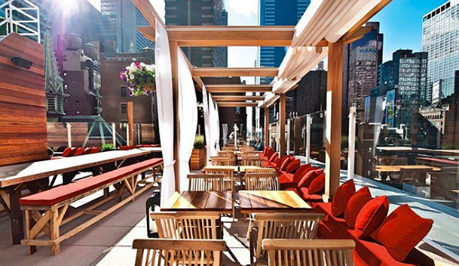 Sun S Out Brunch 7 Best Spots For A Delicious Rooftop In Nyc