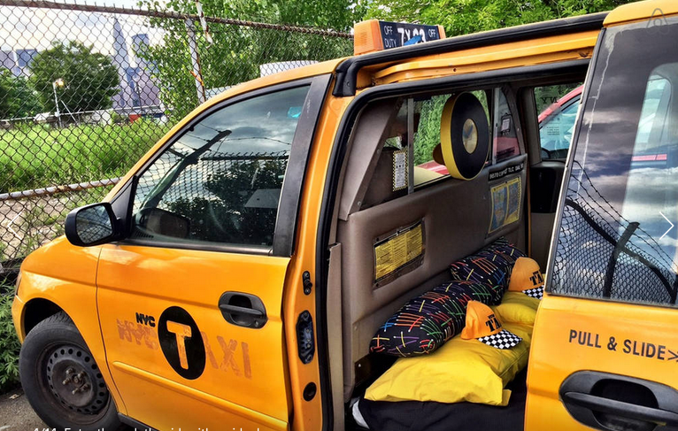 8064f7c679 Wanna Rent Out This NYC Taxi for a Night  Now You Can-- Complete ...