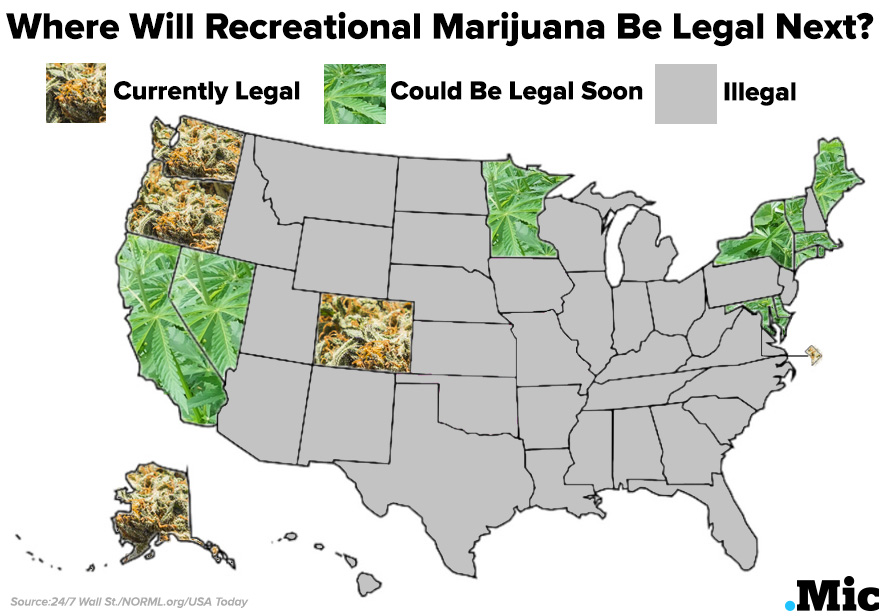 Best. Map. Ever. Did You Know New York Is One of the 11 States to ...